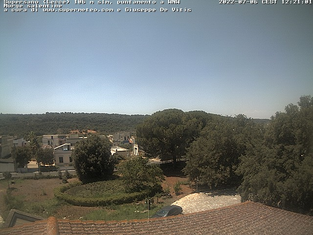 Supersano Italy  city photos : Weather Cam Supersano Italy Supersano Italy