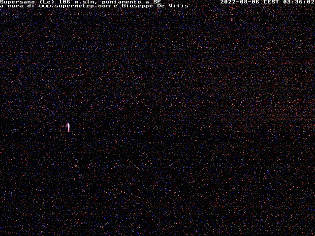 Webcam Supersano - SuperMeteo