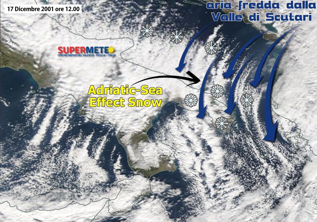 La Grande Nevicata nel Salento 17 Dicembre 2001