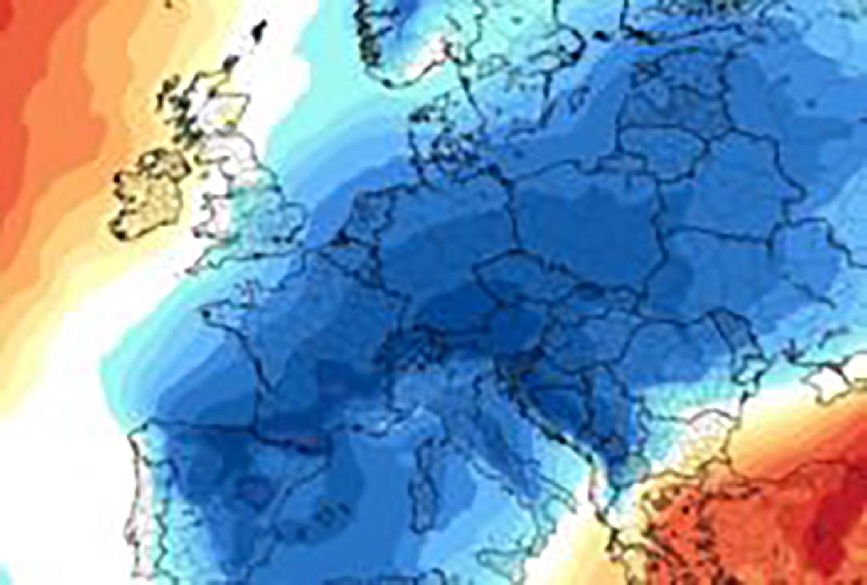 Un'ondata di freddo in arrivo dal 5 febbraio