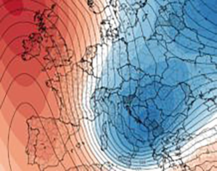 Ondata di freddo metà della prossima settimana, segue tempo variabile a prevalenza anticiclonica