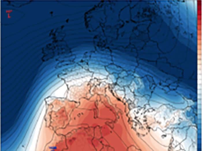 Rimonta anticiclonica sull'Italia per i primi giorni di Febbraio
