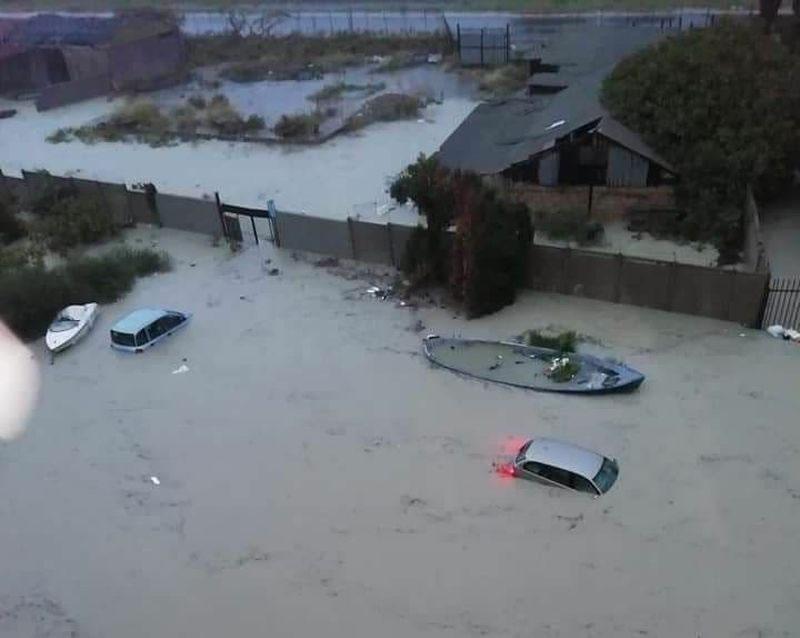 Alluvione a Crotone Città