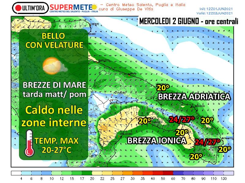 2 giugno bello caldo brezze