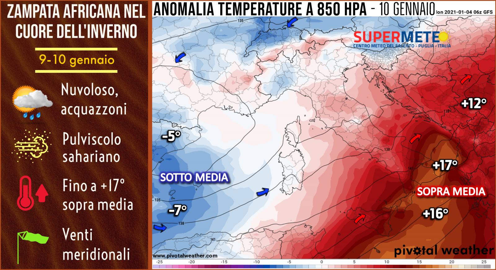 caldo africano anomalo