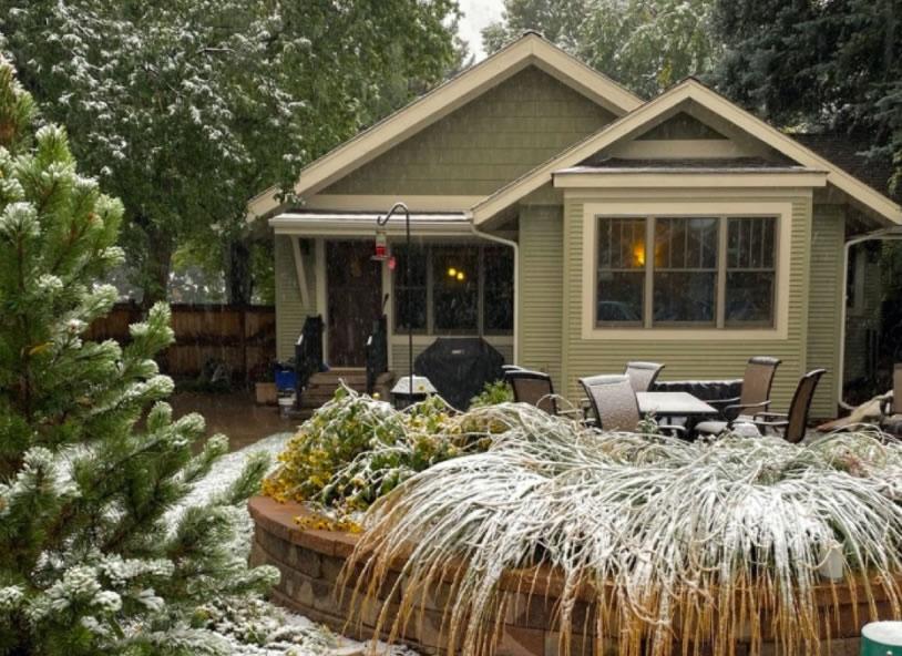 Le prime bufere di neve in nord America